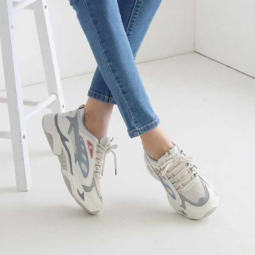 kami et muse Pastel color mix ugly sneakers_KM21s004