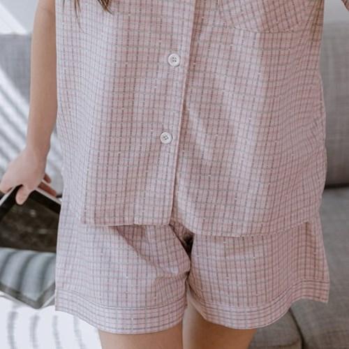 유미 면모달잠옷세트(핑크)