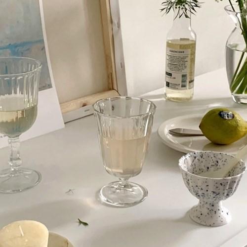 브리에 프렌치샴페인잔 (와인 파티 홈카페 선물용)