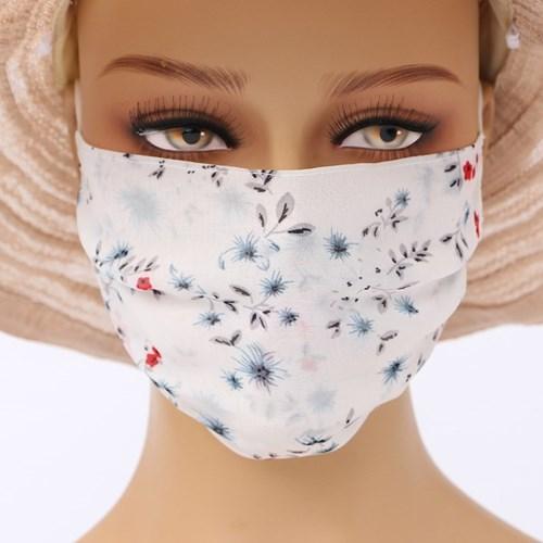 숨쉬기 편한 시폰 마스크(화이트)/ 시원한 여름마스크