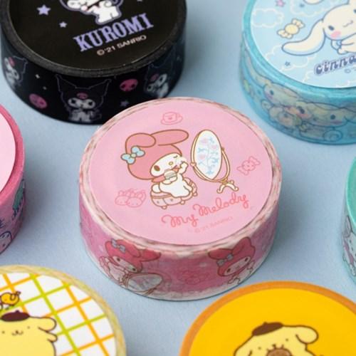 [Sanrio] 마이멜로디&쿠로미 마스킹테이프