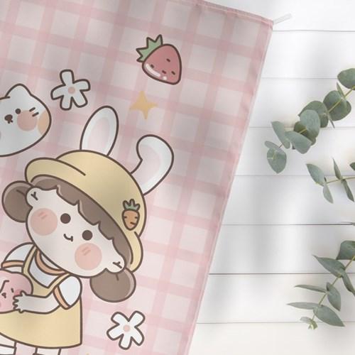 Cute Romi 일러스트 패브릭포스터 4종