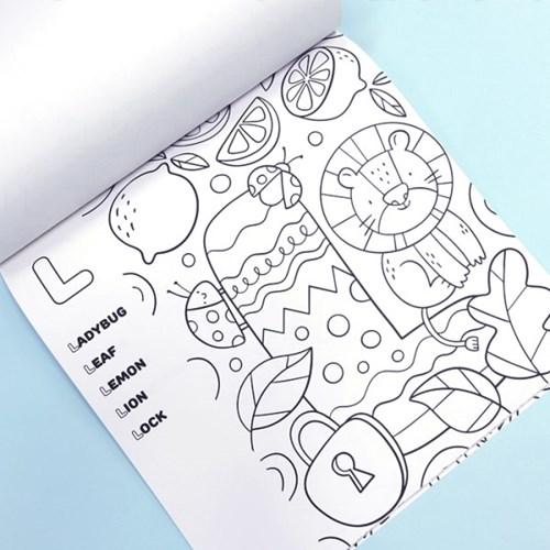 키즈 컬러링북 - 알파벳