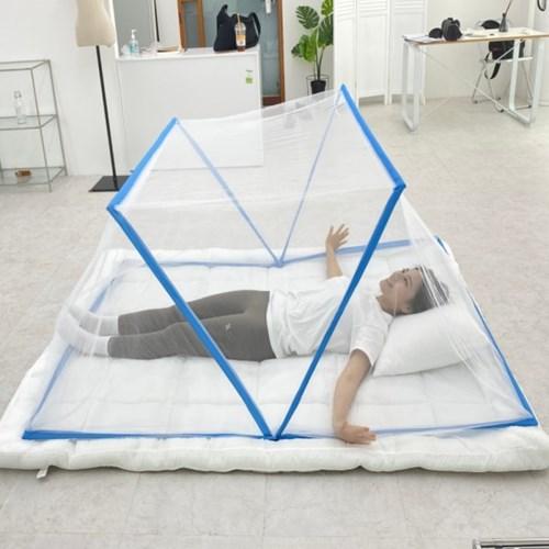 접이식 3단 침대 캠핑 텐트 1인용 2인용 3인용 폴딩 모기장 방충망