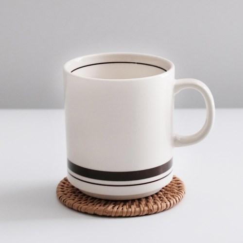 카네수즈 일자 머그컵 직머그 커피잔