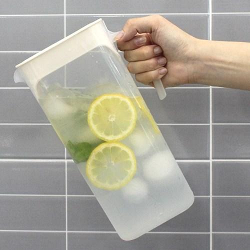 프레쉬 가정용 냉장고 보관 물병 물통 2L 2개