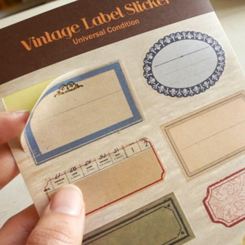 Vintage Label Sticker