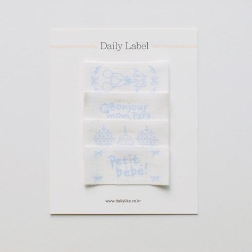 Daily Label - 03 PETIT BEBE_BOY