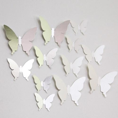 Deco Sticker-나비정원
