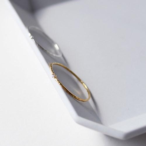 실버 실반지(2colors)silver thread ring