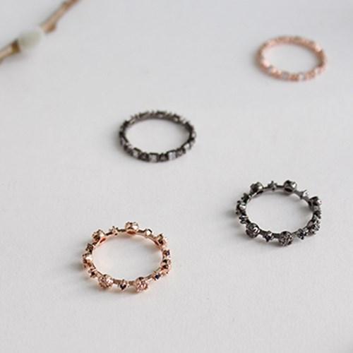 써클링 라인 반지(2colors)circling line ring
