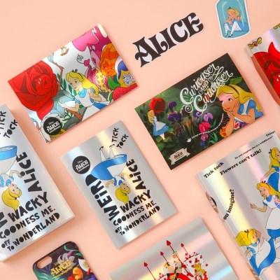 [Disney]Alice_Hologram Post Card_vol1