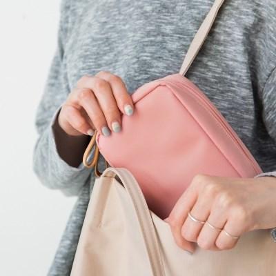 [핑크에디션] DAY MAKE-UP POUCH_PINK