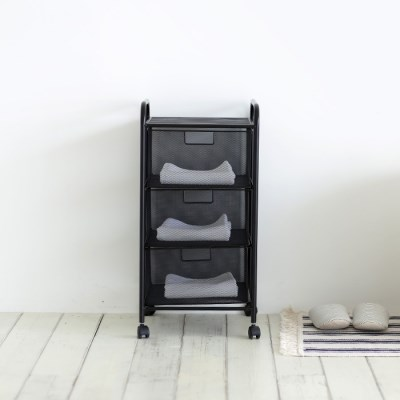[BLACKSMESH] 컬러에디션 이동식 수납장 모음전 (택1)
