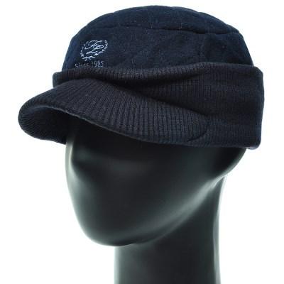 [더그레이]ECO21.니트 귀마개 숏챙 퀼팅 골프 캡모자