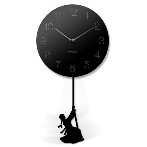 스윙추벽시계_숫자(검정)