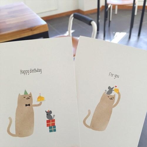 동물카드(여우)