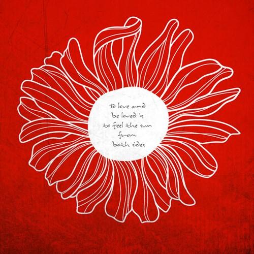 꽃한송이 S661-플라워 포인트 인테리어 그래픽스티커_(1755653)