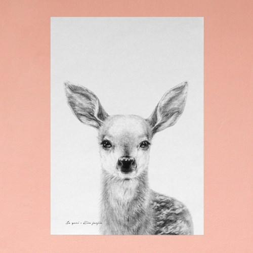 플라워포켓 사슴+행잉프레임 세트