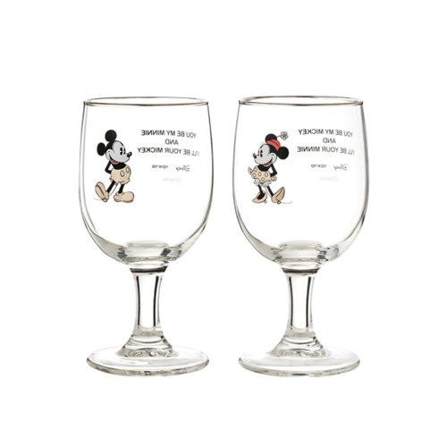 [Disney]미키&미니_glass