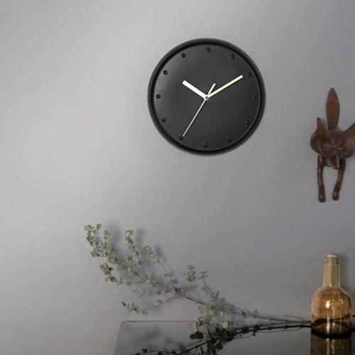 세린벽시계_블랙