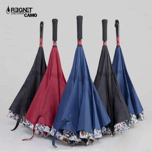 레그넷1주년 기념 거꾸로 우산의 패션화! 레그넷 카모