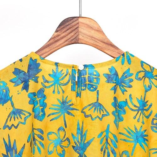 [Kids Poncho] Balibloom - Yellow