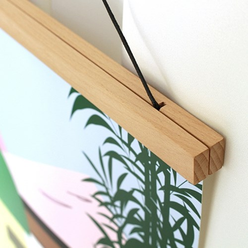 원목 자석 포스터 행거 Wooden Magnet  Poster Hanger
