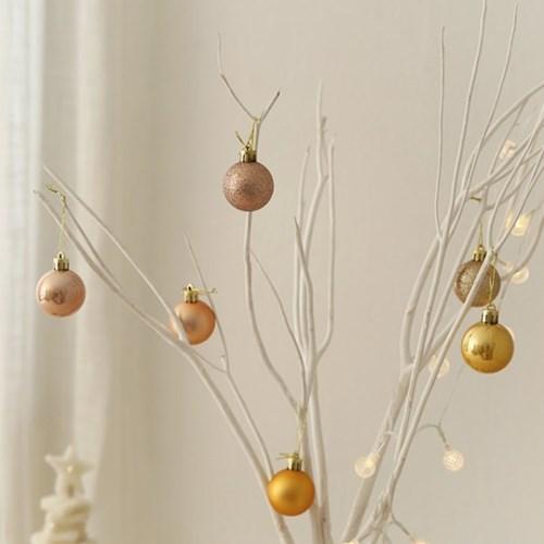 크리스마스 믹스볼 4cm (9개set) [5color]_(611382)