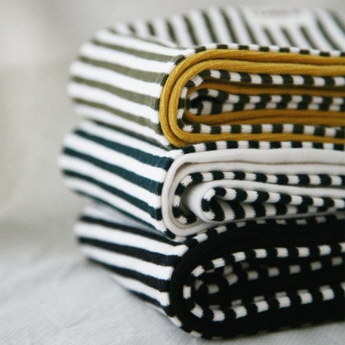 BASIC STRIPE STOLE (black)