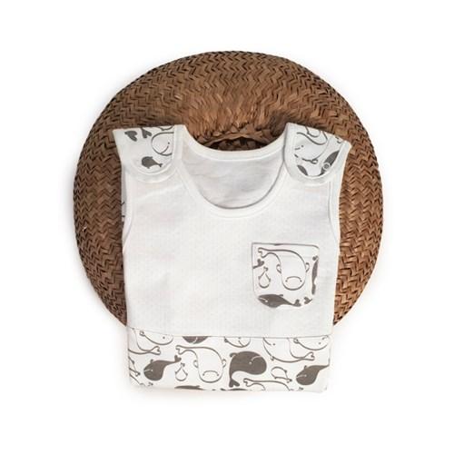 애기바당 코롱코롱수면조끼(돌고래패턴)