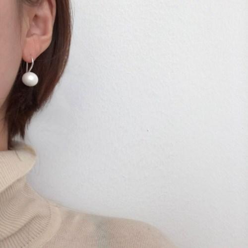[진주 드롭 귀걸이] 벨리타 이어링