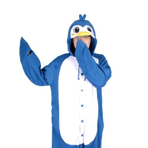 사계절 동물잠옷 펭귄 (블루)