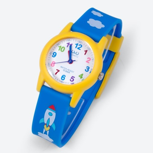큐앤큐 남녀 어린이 초등학생 입학 아동 방수 손목 시계 VR41J VR99J