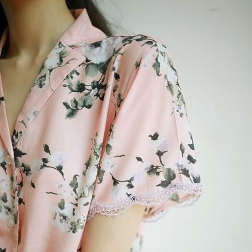 로지 모달 파자마 셔츠
