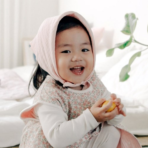 꿈두부 삼중거즈 사각 아기 쁘띠스카프