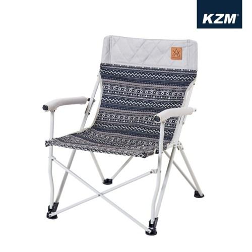 카즈미 챔퍼 체어 1+1 / 감성 캠핑의자 낚시의자 릴렉스체어 로우체