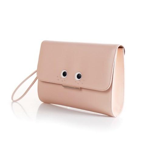 LOVE CHAMR_ 주근깨 Cluch (baby pink)