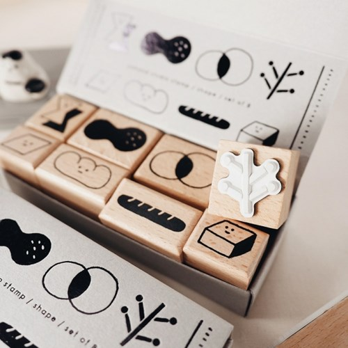 [YOHAND] A Box of Shapes - Stamp