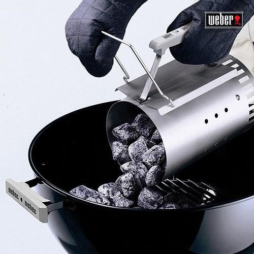 [정식수입품]웨버 오리지날47 그릴+비어치킨 바베큐세트