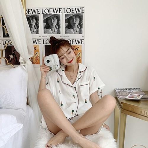 뽀송 당근 잠옷 세트