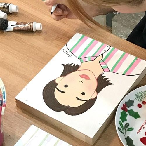 [텐텐클래스] (부천) 아크릴 물감을 활용해 아트소품 만들기