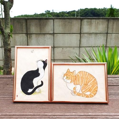 [텐텐클래스] (수원) 우리그림 고양이그리기 원데이클래스