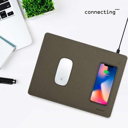 커넥팅팟 10W 커넥팅파워 마우스패드 고속무선충전