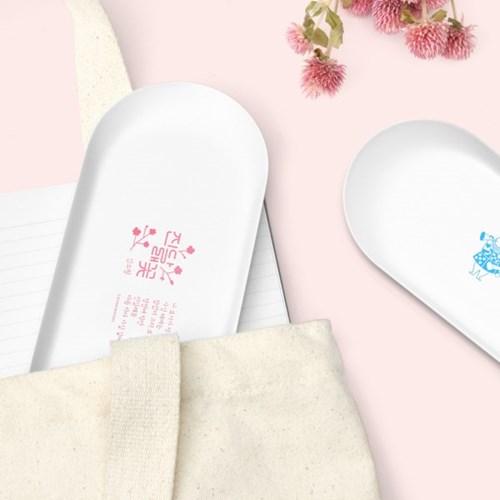 한국문학 & 세계문학 화이트 스틸 펜트레이 (4types)