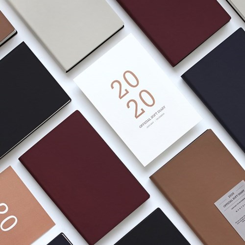 (2020 날짜형) 2020 오피셜 소프트 다이어리_32절