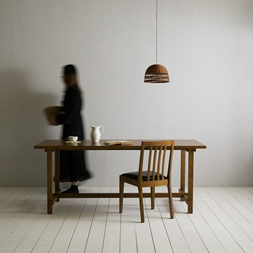[장미맨숀]로사 원목 4인용 6인용 다이닝 식탁 테이블