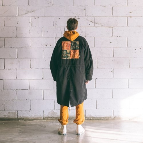 [Matt and Mel x Big Union] Patchwork M65 Parka