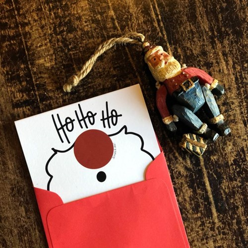 호호호 산타 크리스마스 이벤트 스크래치 카드