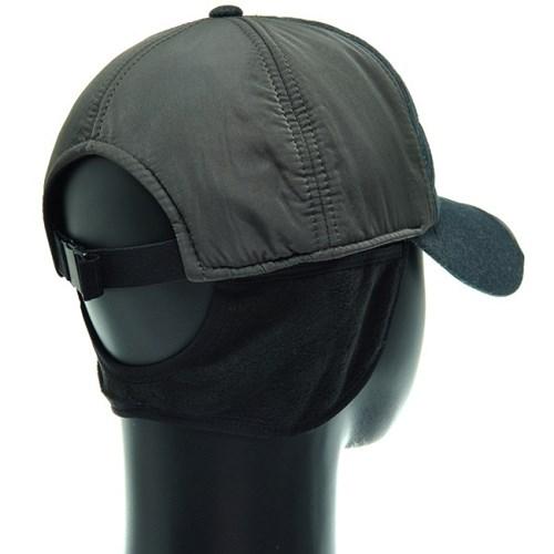 [플릭앤플록]RCO03.배색 패딩 귀달이 골프 방한 캡모자